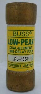 Lpj 15sp Bussman 600 Vac Low Peak Time Delay Class Cc Industrial Fuse