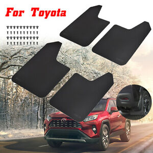 Set Mud Flaps Splash Guards Mudflaps Mudguards For Toyota Car Suv Truck Fender