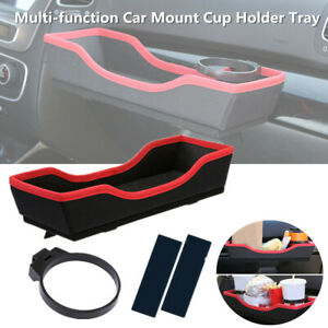 Multi function Car Suv Mount Beverage Drink Cup Bottle Holder Rack Sundries Tray