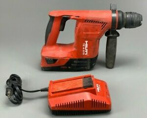 Hilti Te 4 a18 With 5 2ah Battery Charger Cordless Rotary Hammer Drill