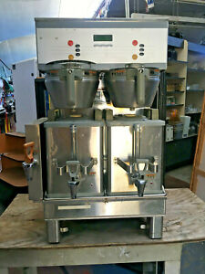 The Dual Sh Dbc Coffee Brewer W 2 1 5 Gallon Servers
