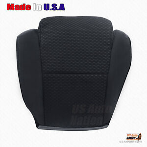For 2007 To 2012 Toyota Tundra Driver Bottom Cloth Replacement Seat Cover Black