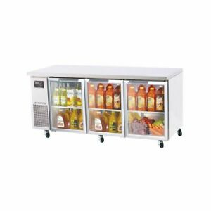 Turbo Air Jur 72 g n Undercounter Refrigeration new