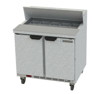 Beverage Air Spe36hc 10 Sandwich Prep Tables new