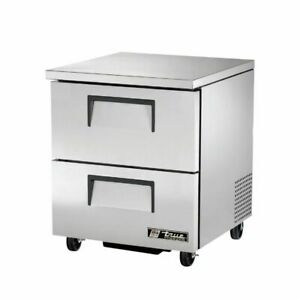 True Manufacturing Co Inc Tuc 27f d 2 hc Undercounter Refrigeration new
