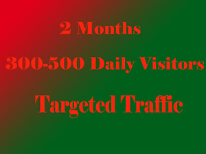 Targeted Website Traffic For 60 Days 7 75