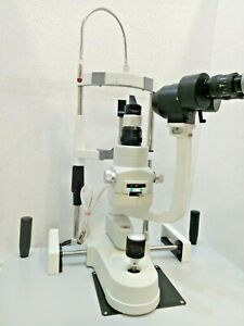 Ophthalmic Free Shipping 2 Step Slit Lamp Zeiss Type With Accessories Ophthalmol