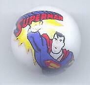 Superman Glass Marble