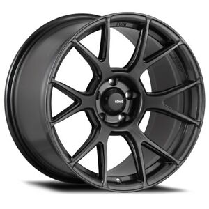 Konig Ampliform 19x9 5 45 5x112 Dark Metallic Graphite Set Of 4