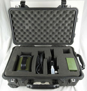 Sass 3100 Dry Air Sampler Kit W Particle Extractor Genuine Pelican Hard Case