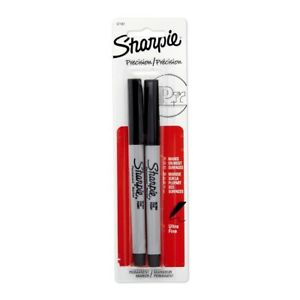 Ultra Fine Point Permanent Marker Pack Of 2 Pens