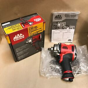 Mac Tools 1 2 13mm Pneumatic Air Impact Wrench Mpf980501 new