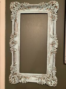Vintage Frame Ornate French Style Shabby Chic Wall Decor Hollywood