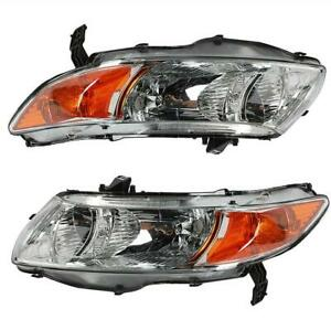 Ho2519111 Ho2518111 Headlights Headlamps For 2006 2011 Honda Civic 2 Door Coupe