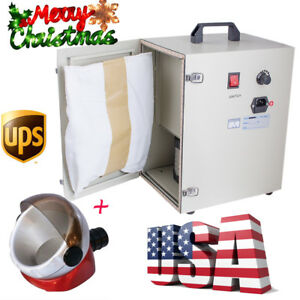 Usa Dental Dust Collector Vacuum Suction Cleaner Device 1200w free Suction Base