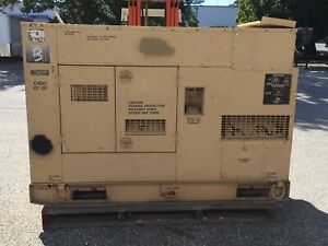 Military Mep 806a 60kw Military Generator 690 Hours