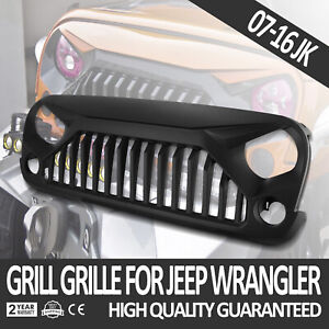 Front Angry Bird Gladiator Grille For Jeep Wrangler 2007 2018 Jk