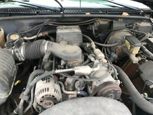 Chevrolet Truck 350 Cid 5 7l Complete Dropout Engine Assembly