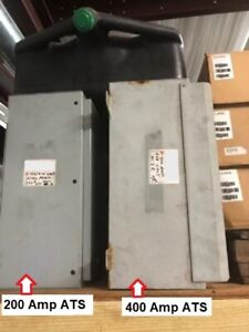 Generac 400 Amp Automatic Transfer Switch ats Nema 3r outdoor Enclosure