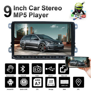 9 Car Stereo Android 8 1 Gps Navigation For Vw Golf 5 Vi Variant Passat Touran