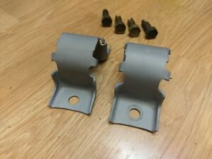 1970 Chevelle Oem Gm Front Sway Bar Brackets oval m Stamps Ss Ls6 396 454 Nice