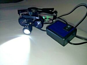 New 3 5x Led Dental Loupe Rechargeable Expedited Shipping Worldwide