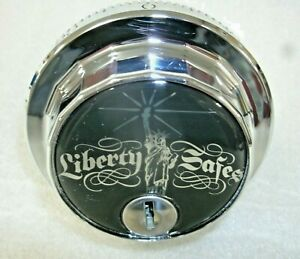S g 6730 Combination Safe Lock From Liberty Safe chrome Finish locksmith
