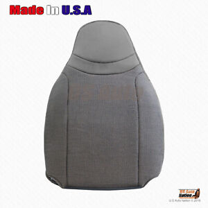 Front Passenger Top Cloth Replacement Seat Cover Gray 2000 To 2002 Ford Ranger