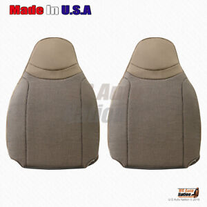 2000 2001 2002 Ford Ranger Driver And Passenger Top Cloth Tan Replacement Covers