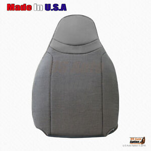 2000 To 2002 Ford Ranger Front Driver Top Cloth Replacement Cover Graphite Gray