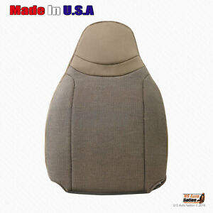 2000 2001 2002 Ford Ranger Front Driver Lean Back Replacement Cloth Cover Tan