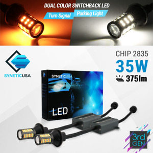 3157 Type 1 Switchback White amber All in one 64 led Drl Turn Signal Light Bulbs