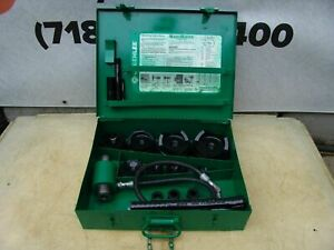 Greenlee 7310 Hydraulic Knockout Punch And Die Set 1 2 To 4 7 23