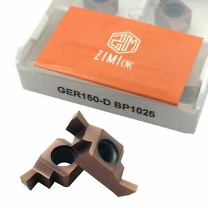 10pcs New Ger150 d Bp1025 Threading Carbide Inserts Cutting Tool For Lathe Cnc