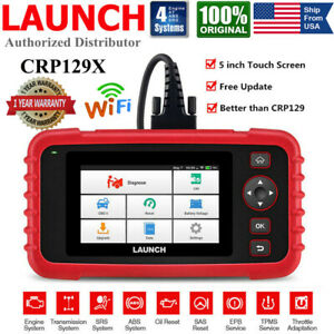 Launch X431 Crp129x Obd2 Scanner Auto Diagnostic Tool Car Code Reader As Crp129e