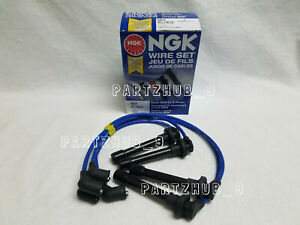 Ngk He76 8034 Blue Spark Plug Wire Set Made In Japan Fits For Honda Acura