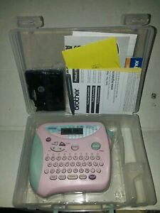 Brother Pink P touch 1100sb Label Maker With Case