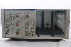 Tektronix Tm504 Power Module Chassis W Pg507 50 Mhz Dual Output Pulse Generator