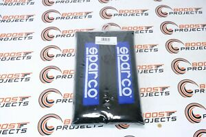 Sparco Competition Harness Pad Black Racing For Universal 01098s3n