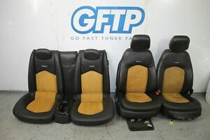 11 15 Cadillac Cts V Cts V Coupe Seats Set Front Rear Two Tone Oem Factory Stock