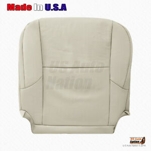 For 2012 2013 Lexus Gx460 Front Driver Bottom Perforated Leather Seat Cover Tan