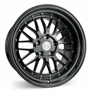 Esr Sr05 18x10 5 22 5x114 3 Gloss Black 350z G35 240sx 370z G37 Q50 set Of 4