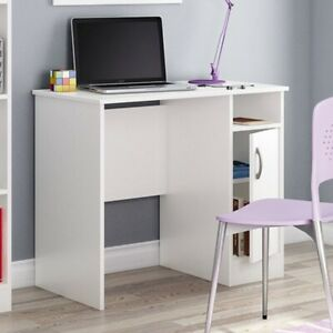White Computer Desk Great For Small Home Office Space