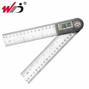 0 200 Mm 7 Digital Protractor Angle Ruler Electronic Goniometer Angle Meter