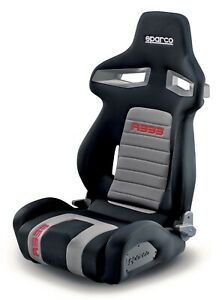 Sparco R333 Tuner Seat Black red grey 00965nrgrs