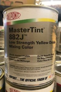 Dupont Mastertint Cromax Qt 882 J Low Strength Yellow Oxide Quart Chromabase