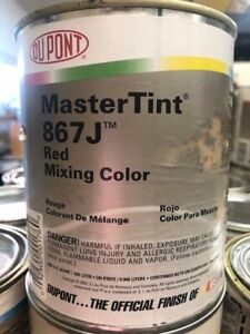 Dupont Mastertint Cromax Qt 867j Red Quart Chromabase