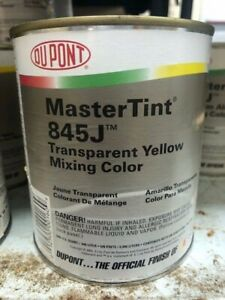 Dupont Mastertint Cromax Qt 845j Transparent Yellow Quart Chromabase