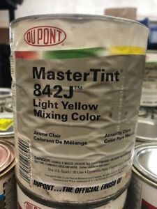 Dupont Mastertint Cromax Qt 842j Light Yellow Quart Chromabase