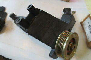 Genuine Ford Idler Pulley And Bracket E92z 8678 A Ys 162 Free Ship